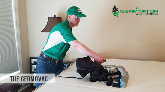 Picture of The Germovac Used in Mattress Sanitizing